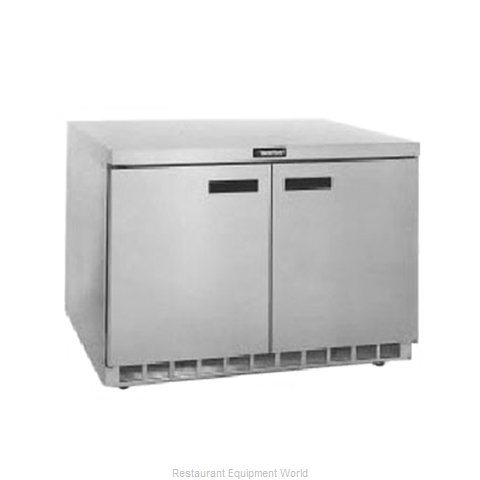 Delfield UCD4448N Reach-in Undercounter Refrigerator 2 section
