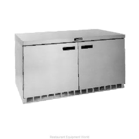 Delfield UCD4460N Reach-in Undercounter Refrigerator 2 section