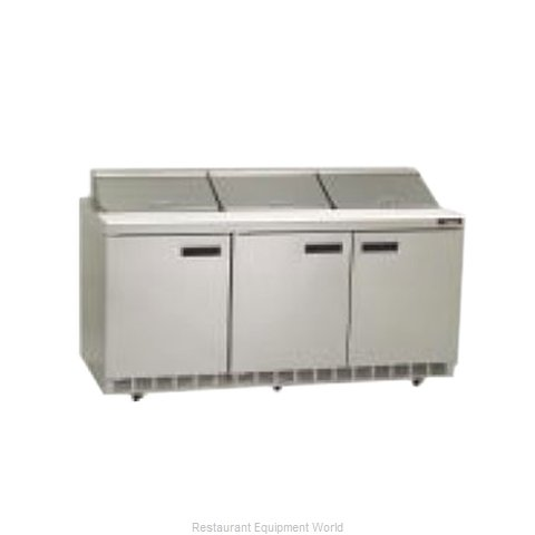 Delfield UCD4472N-12 Refrigerated Counter, Sandwich / Salad Top