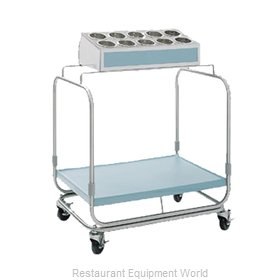 Delfield UTS-1 Flatware & Tray Cart