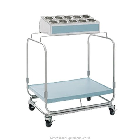 Delfield UTS-1SS Flatware & Tray Cart (Magnified)