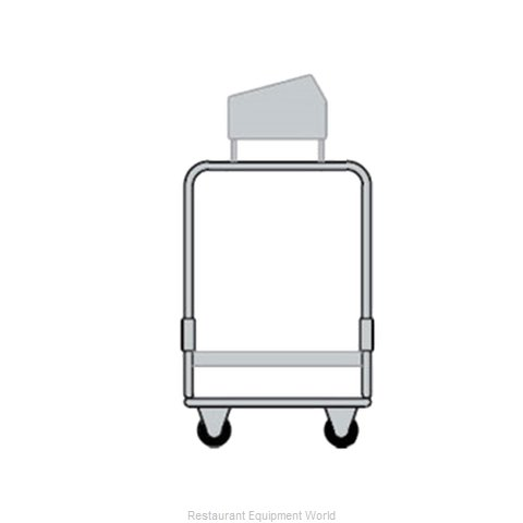 Delfield UTSP-1SS Flatware & Tray Cart (Magnified)