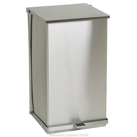 Detecto C-100 Waste Basket, Metal