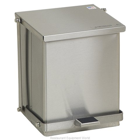Detecto C-16 Waste Basket Metal