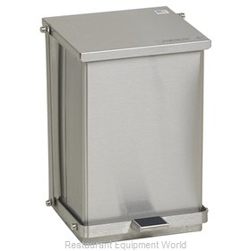 Detecto C-24 Waste Basket, Metal