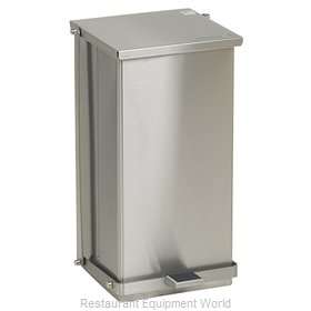 Detecto C-32 Waste Basket, Metal