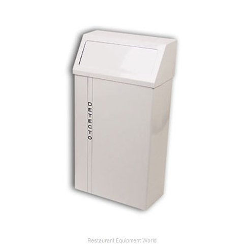 Detecto H-60 Trash Garbage Waste Container Stationary