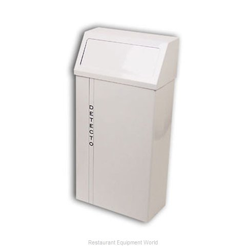 Detecto H-90 Trash Garbage Waste Container Stationary