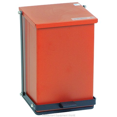 Detecto P-24R Waste Basket Metal
