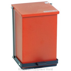 Detecto P-24R Waste Basket, Metal
