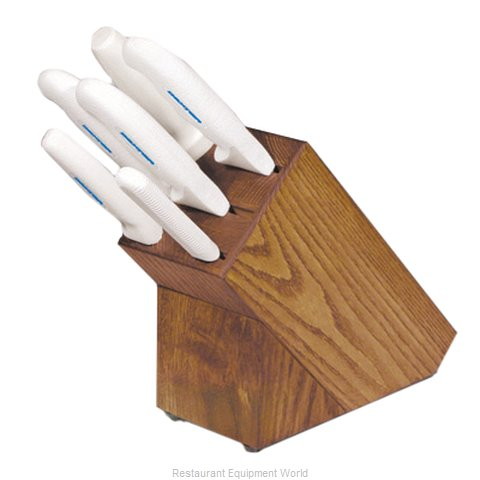 Dexter Russell HSG-3 7pc. Block Set with White Handle