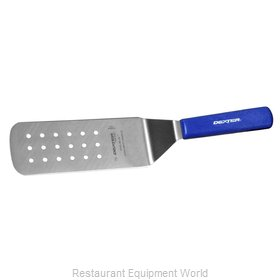 Dexter Russell PS286-8H-PCP Turner, Perforated, Stainless Steel