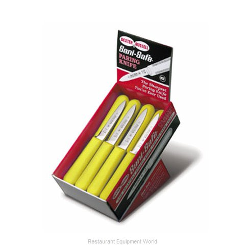 Dexter Russell S104-24Y 24 S104 Parers Yellow