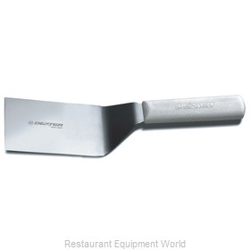 Dexter Russell S286-6 Turner, Solid, Stainless Steel