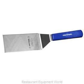 Dexter Russell S286-6H-PCP Turner, Solid, Stainless Steel