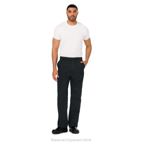 Dickies Chef DC10-BLK-2XL Chef's Pants