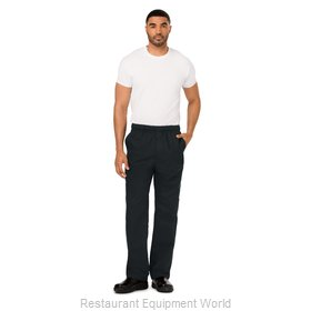 Dickies Chef DC10-BLK-4XL Chef's Pants
