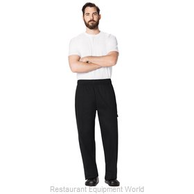 Dickies Chef DC11-BLK-4XL Chef's Pants