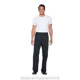 Dickies Chef DC12-BLK-4XL Chef's Pants