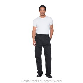 Dickies Chef DC13-BLK-4XL Chef's Pants