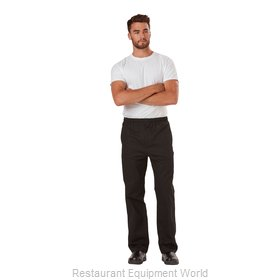 Dickies Chef DC14-BLK-2XL Chef's Pants