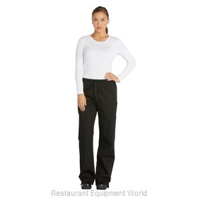 Dickies Chef DC17-BLK-XL Chef's Pants
