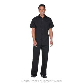Dickies Chef DC60-BLK-2XL Cook's Shirt