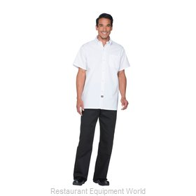 Dickies Chef DC60-WHT-S Cook's Shirt