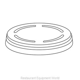 Dinex DX101-103DM Disposable Cup Lids