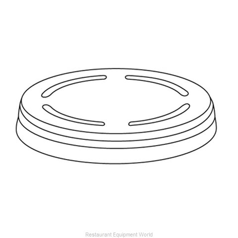 Dinex DX49-51 Disposable Cup Lids