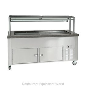 Dinex DXDCF6NR Serving Counter, Cold Food