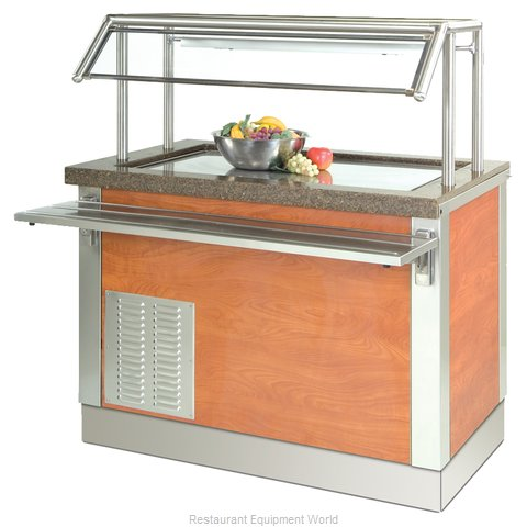 Dinex DXDFT3 Serving Counter, Frost Top