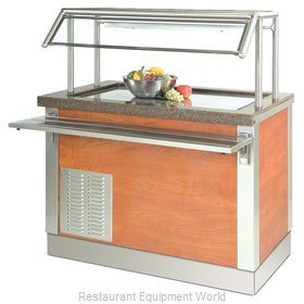 Dinex DXDFT6 Serving Counter, Frost Top