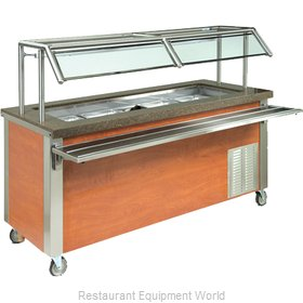 Dinex DXDHC3 Serving Counter Hot and Cold Buffet
