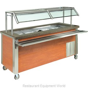 Dinex DXDHC4 Serving Counter Hot and Cold Buffet