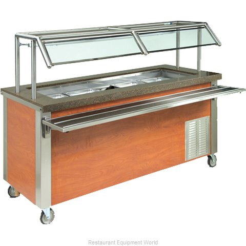 Dinex DXDHF3 Serving Counter, Hot Food, Electric