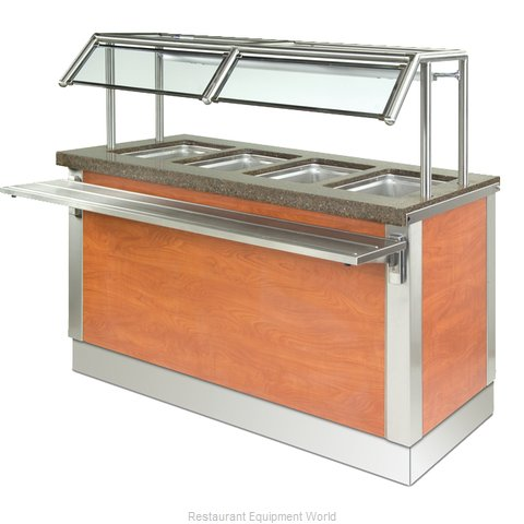 Dinex DXDHF4 Serving Counter, Hot Food, Electric