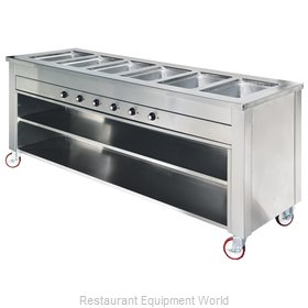 Dinex DXDHF4LL Serving Counter, Hot Food, Electric