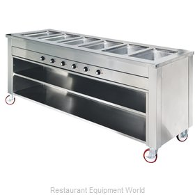 Dinex DXDHF4LR Serving Counter, Hot Food, Electric