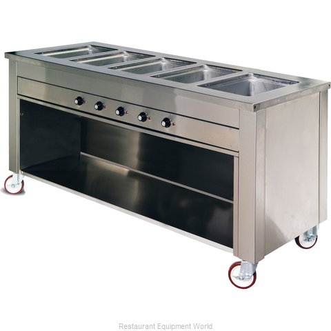 Dinex DXDHF5 Serving Counter, Hot Food, Electric