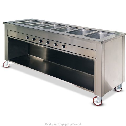 Dinex DXDHF6 Serving Counter, Hot Food, Electric
