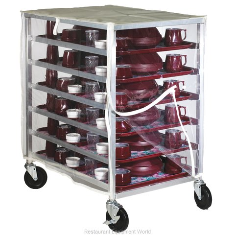 Dinex DXDHOR12UP Cart, Tray Delivery