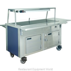 Dinex DXDHT2HIB Serving Counter, Hot Food, Electric