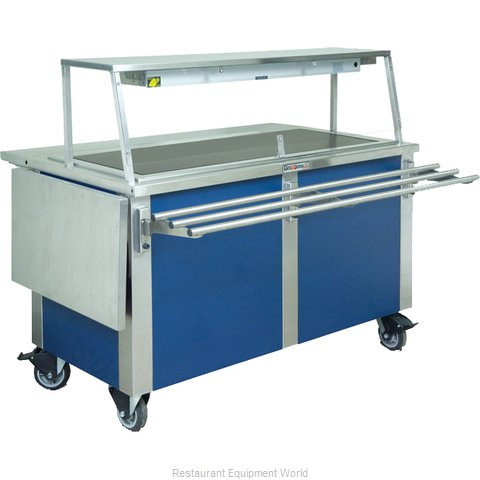 Dinex DXDHT3 Serving Counter, Hot Food, Electric