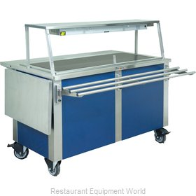 Dinex DXDHT3 Serving Counter Hot Food Steam Table Electric