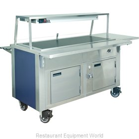 Dinex DXDHT3HIB Serving Counter, Hot Food, Electric
