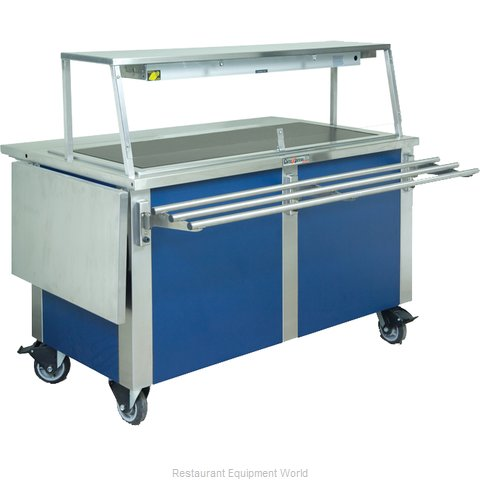 Dinex DXDHT4 Serving Counter, Hot Food, Electric