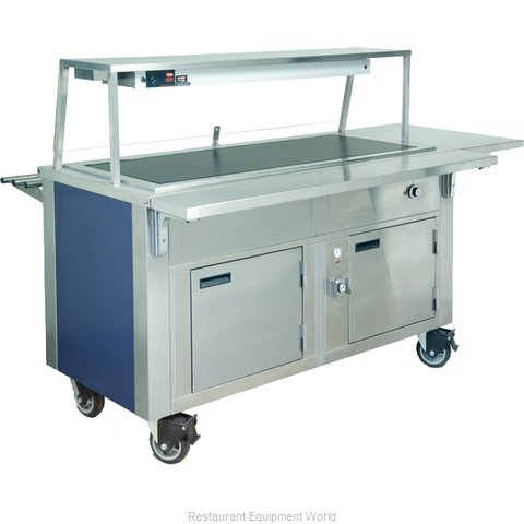Dinex DXDHT5HIB Serving Counter Hot Food Steam Table Electric