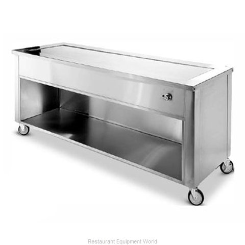 Dinex DXDHT6 Serving Counter Hot Food Steam Table Electric