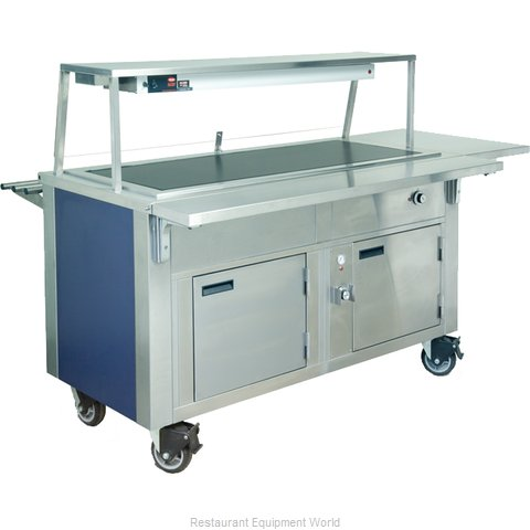 Dinex DXDHT6HIB Serving Counter, Hot Food, Electric